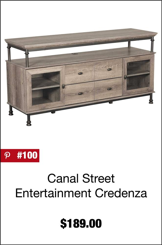 Canal Street Entertainment Credenza