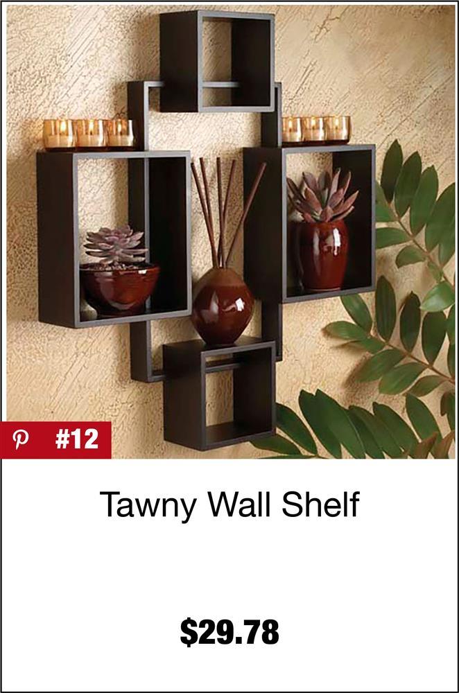 Tawny Wall Shelf