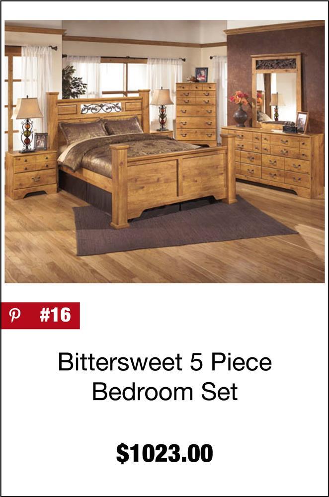 Bittersweet 5 Piece Bedroom Set