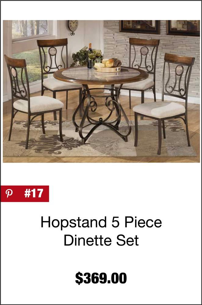Hopstand 5 Piece Dinette Set