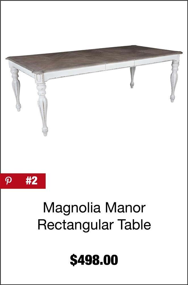 Magnolia Manor Rectangular Dining Table