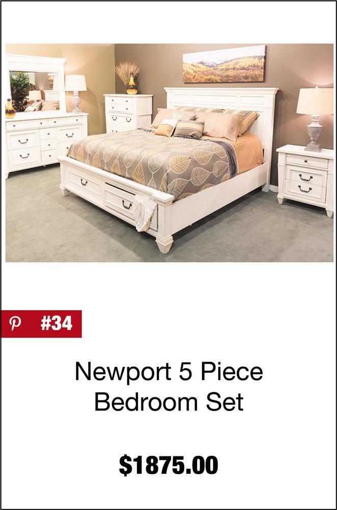 Newport 5 Piece Bedroom Set