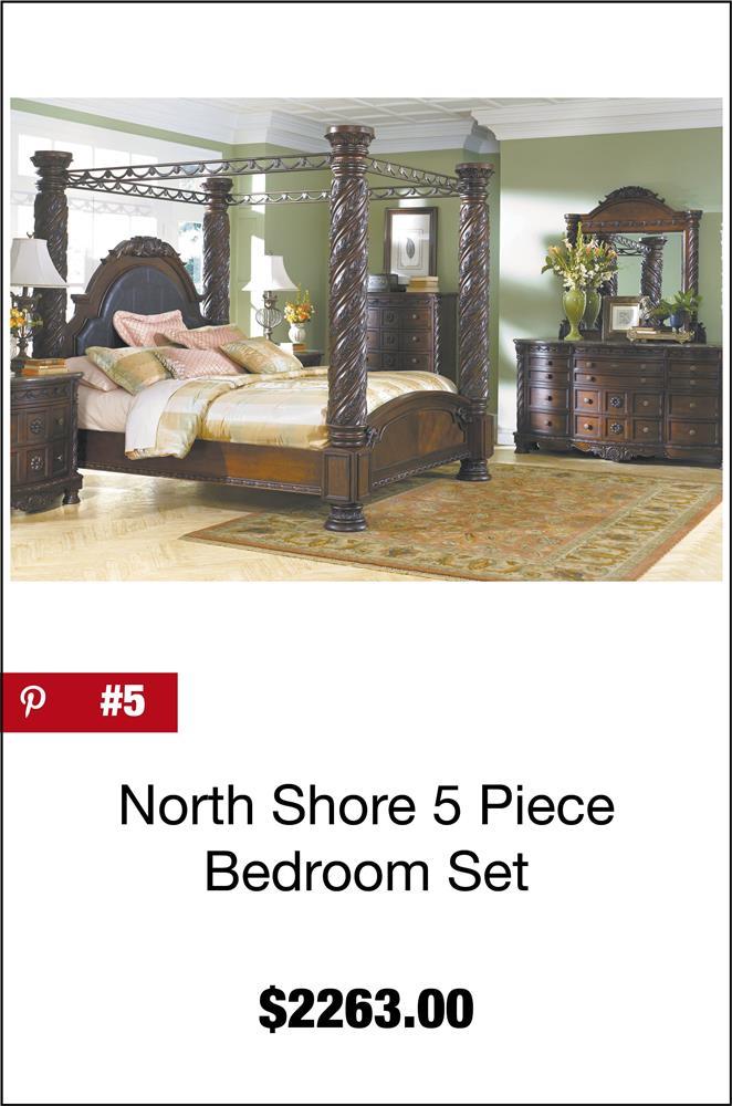 North Shore 5 Piece Bedroom Set