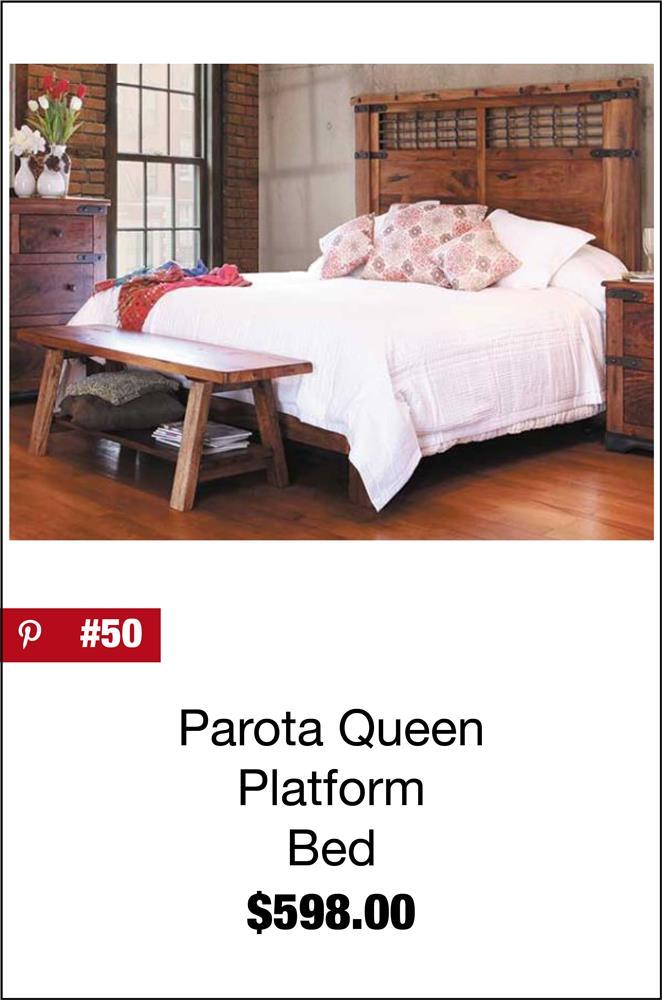 Parota Queen Platform Bed