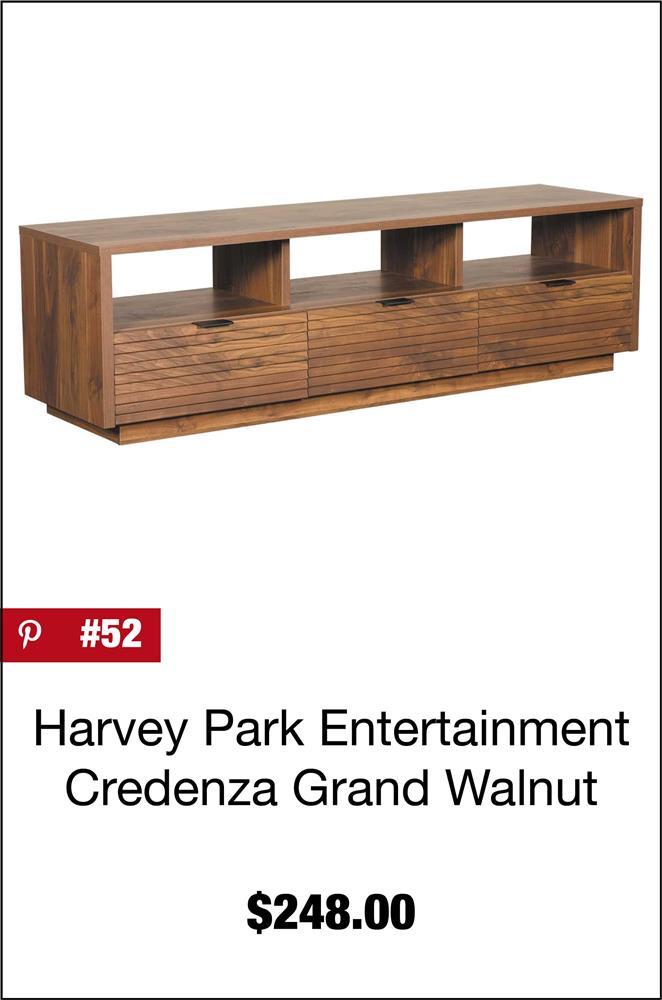 Harvey Park Entertainment Credenza Grand Walnut