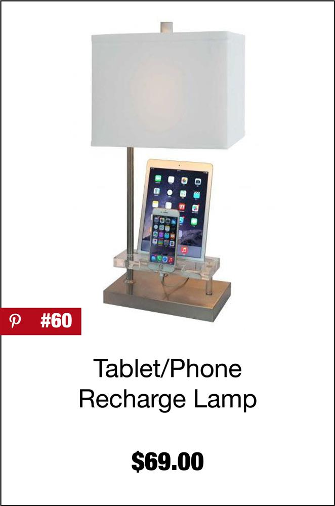 Tablet/Phone Recharge Lamp