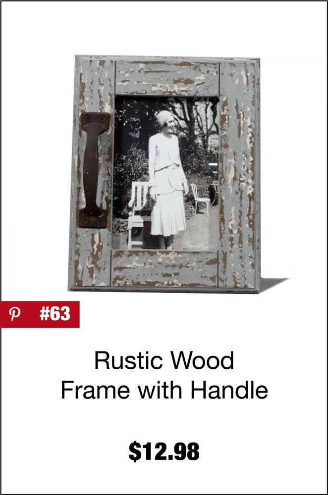 Rustic Wood Frame w/ Handle