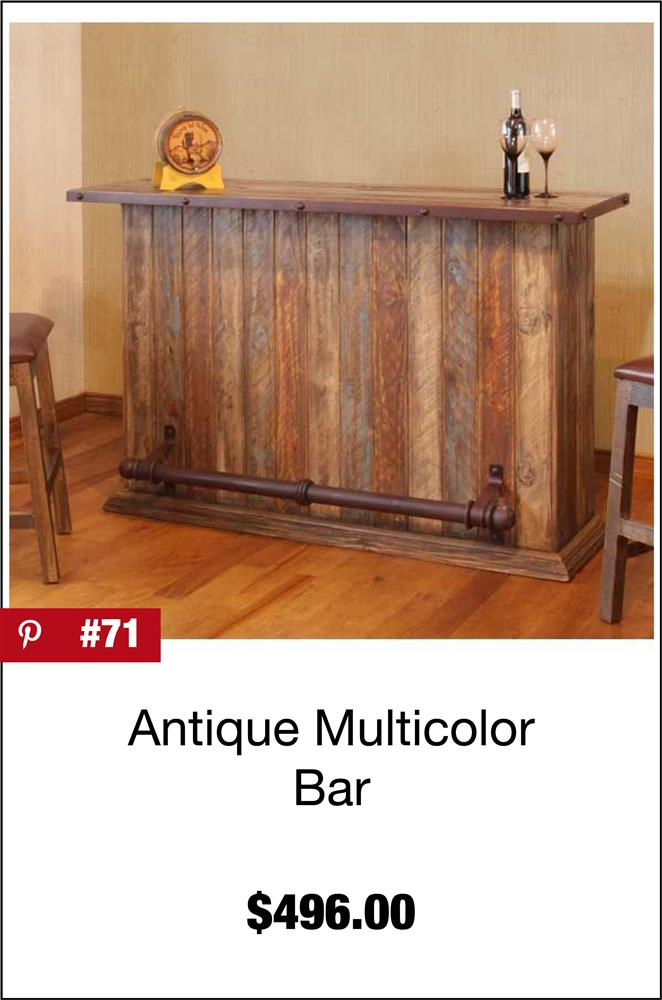 Antique Multicolor Bar