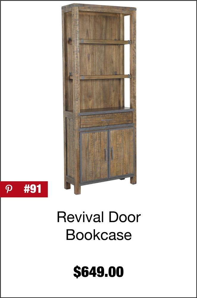 Artisan Revival Door Bookcase