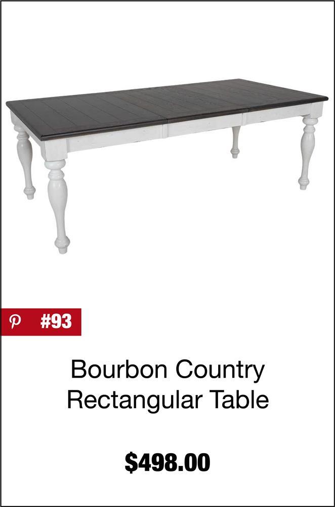 Bourbon County Rectangular Table