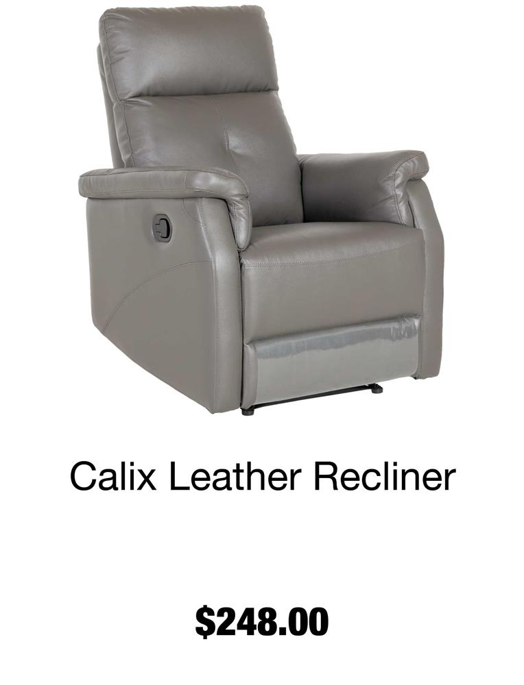 Calix Leather Recliner