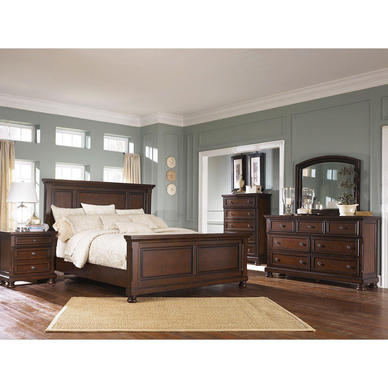 Porter 5 Piece Bedroom Set