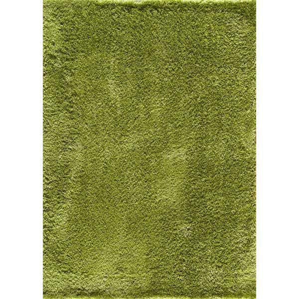 Serene Shag Green Rug 5x7 *D