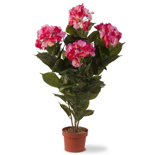 Faux Hydrangea Plant