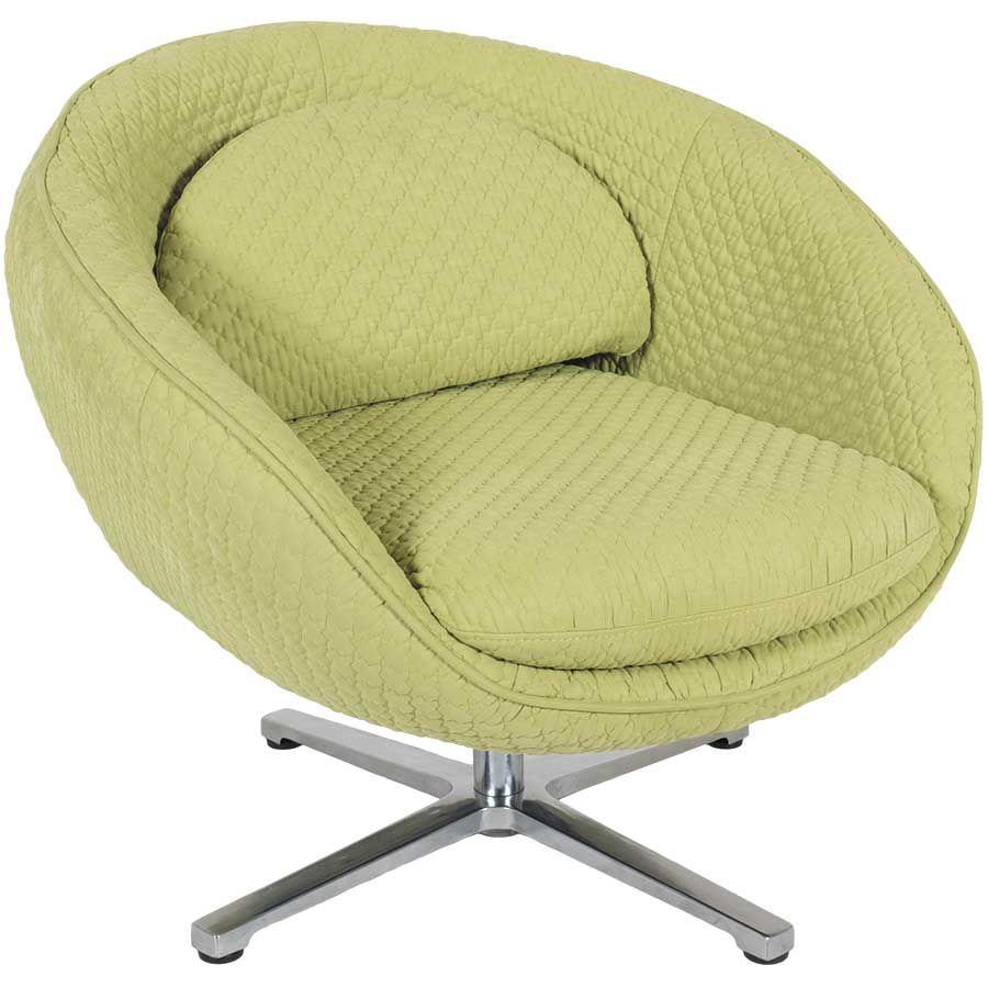 Luna Lime Swivel Chair