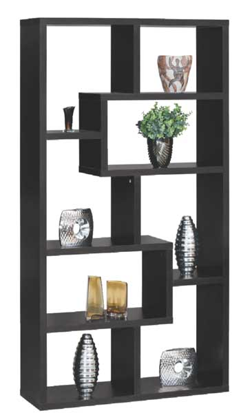 Black Puzzle Display Cube