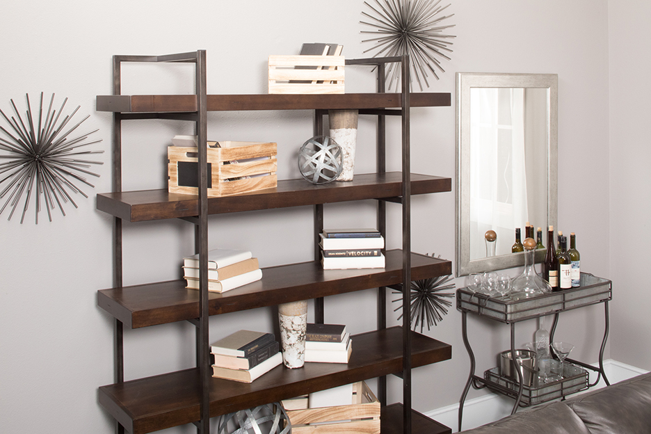Shelf and bar cart
