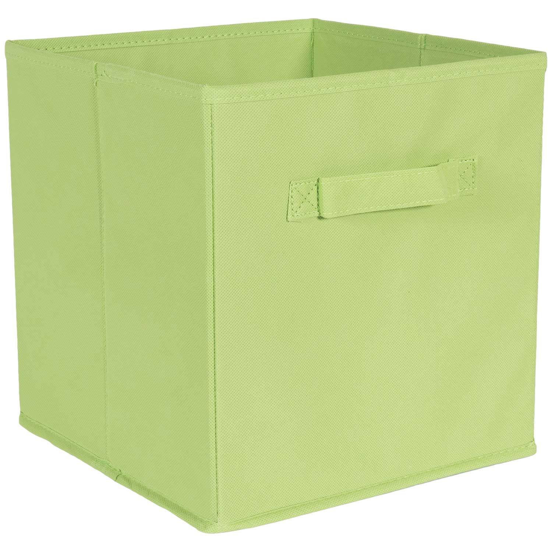 SystemBuild Green Fabric Bin