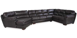 3 Piece Sectional with LAF Piano Wedge