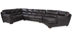 3 Piece Sectional with RAF Wedge