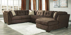 3 Piece Sectional with RAF Chaise