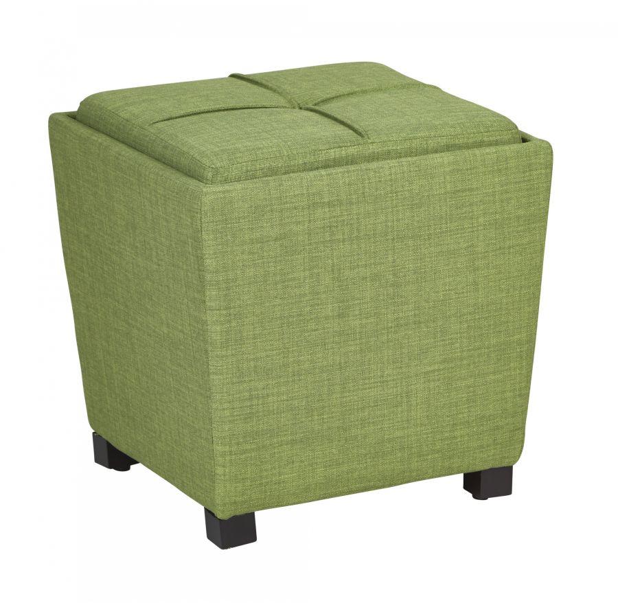 Grass Fabric Ottoman Set