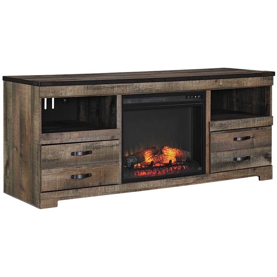 Trinell Console with Fireplace