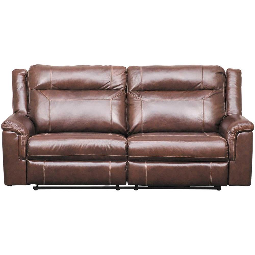 Wyline Leather Power Reclining Sofa with Adjustable Headrest