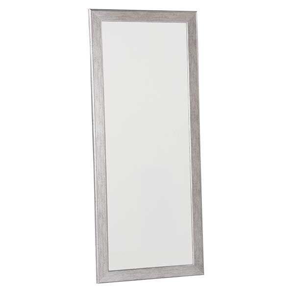 Salerno Silver Leaner Mirror 30x72