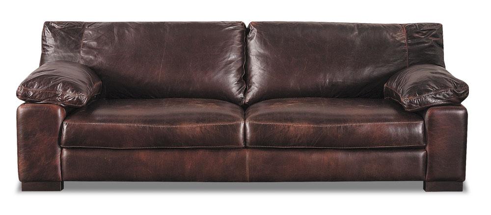 Finished Barcelona All Leather Sofa