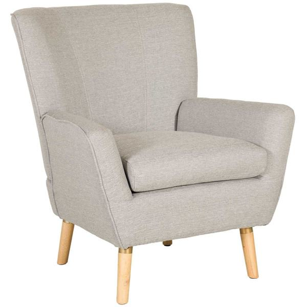 Mara Grey Accent Chair