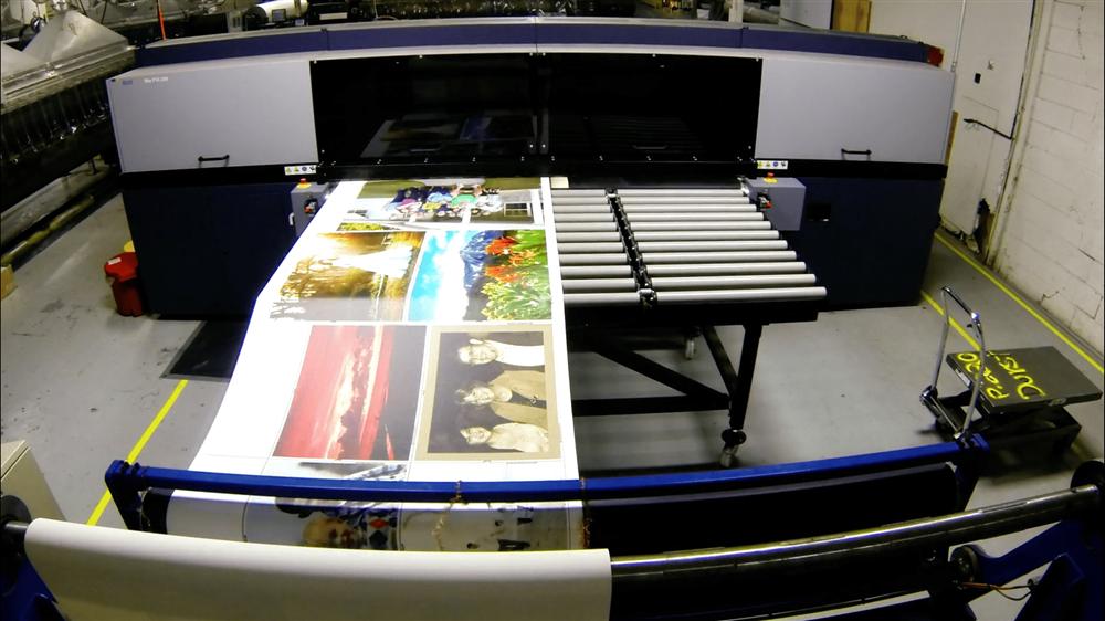 Printer at Circle Graphics