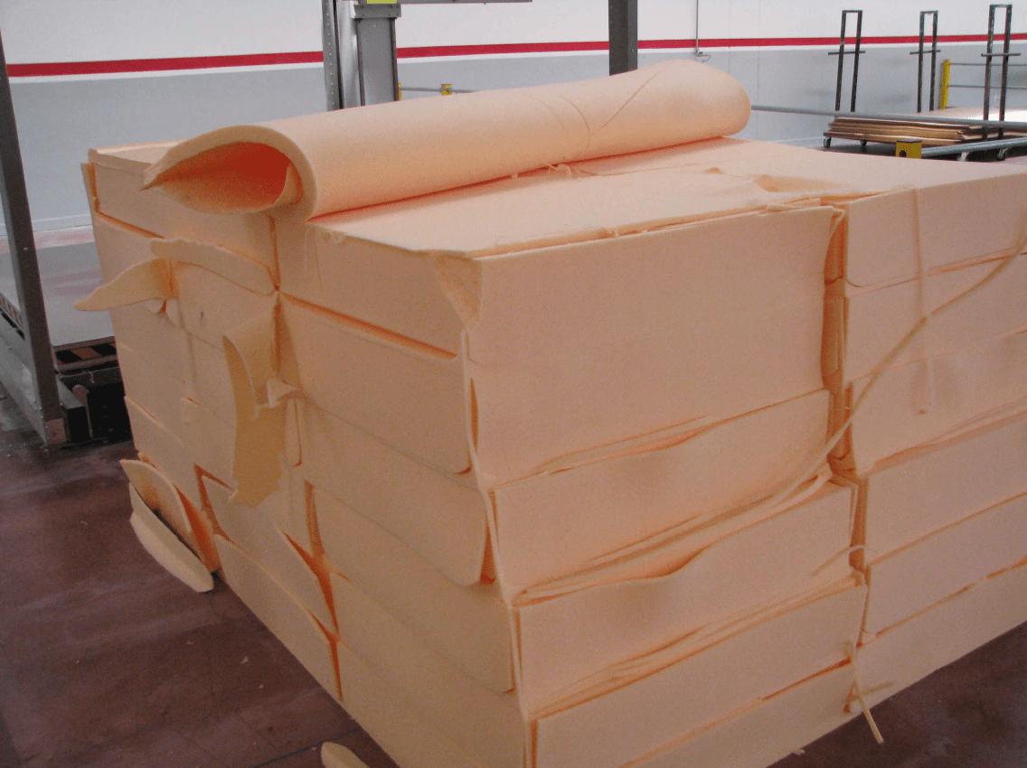 Foam cutting