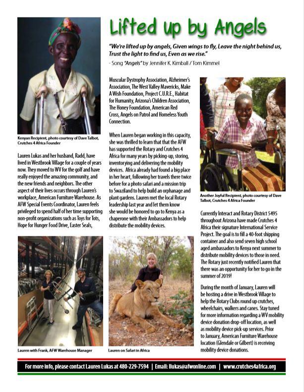 Crutches 4 Africa Article