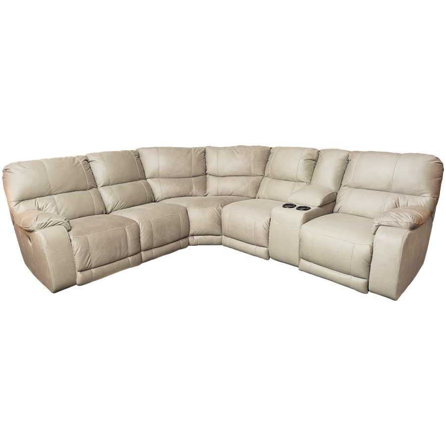 Bohannon 3PC Power Recline Sectional and RAF Console Loveseat