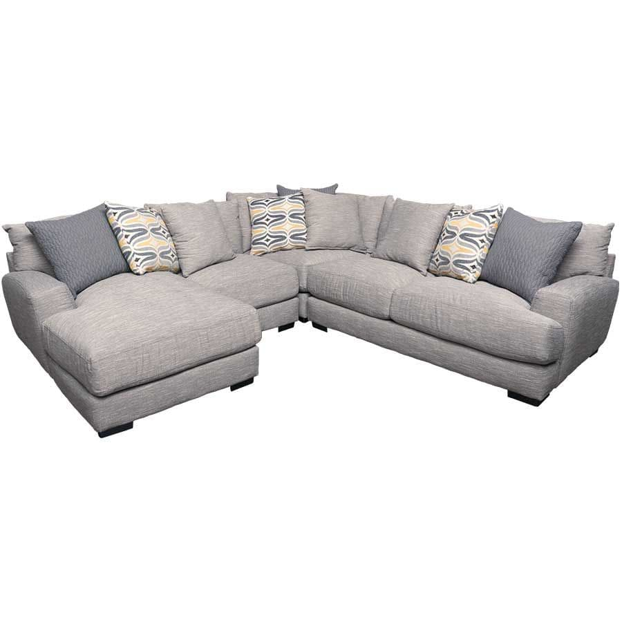 Barton 4PC Sectional with LAF Chaise