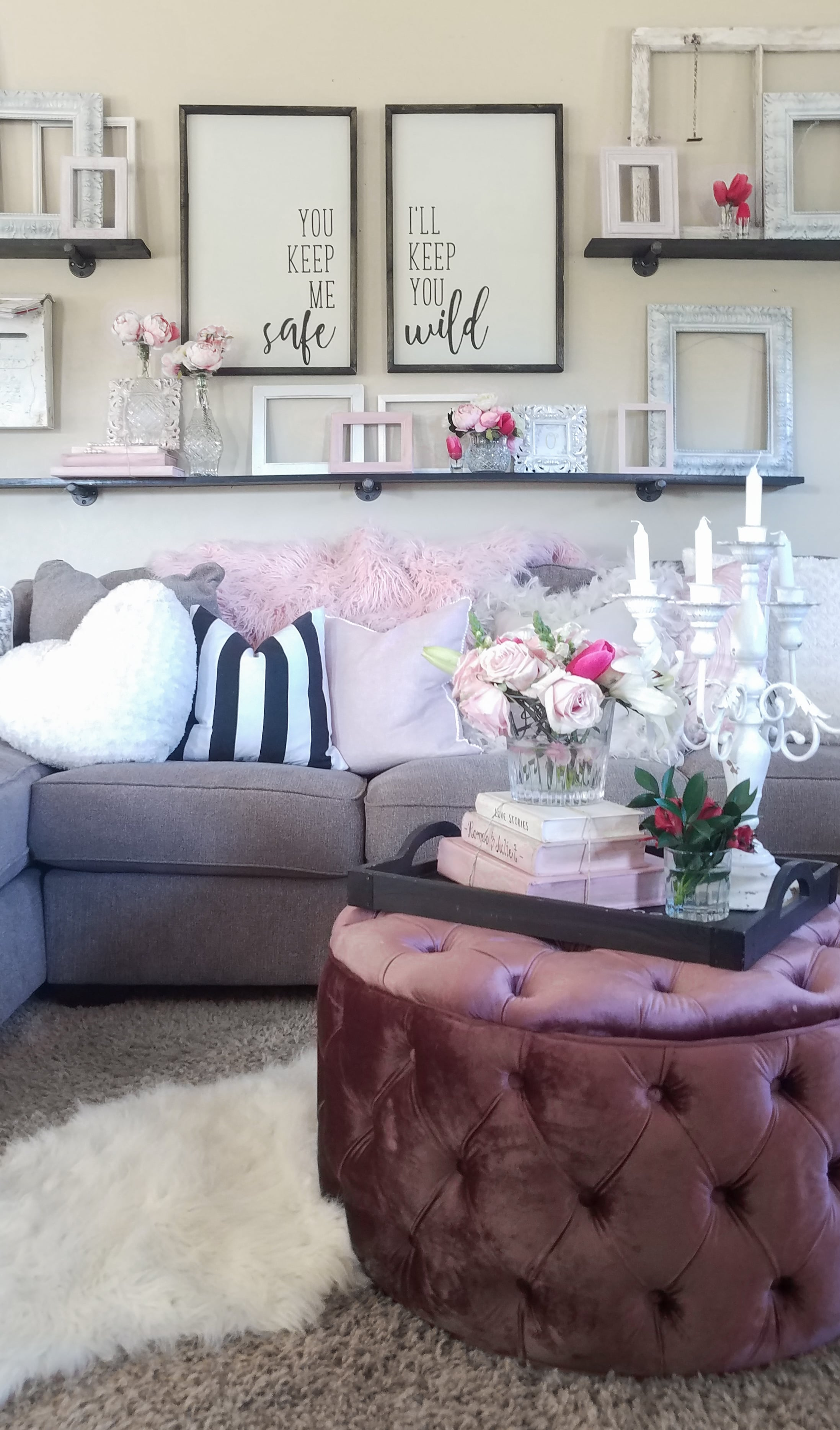 Candelabra and other decor