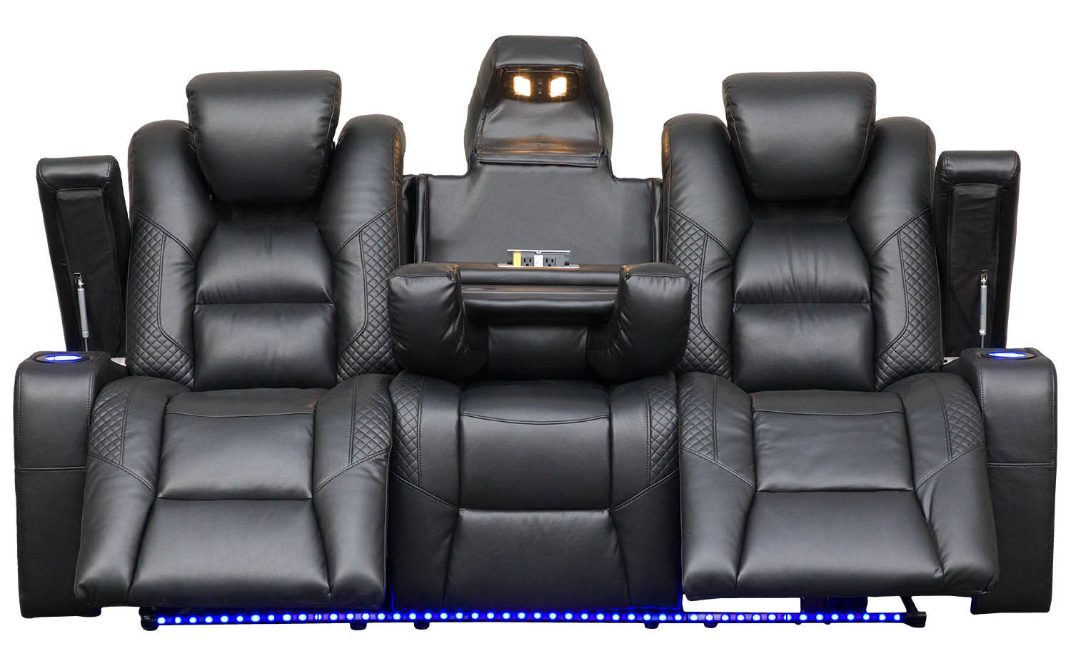Sofa with a lot of features