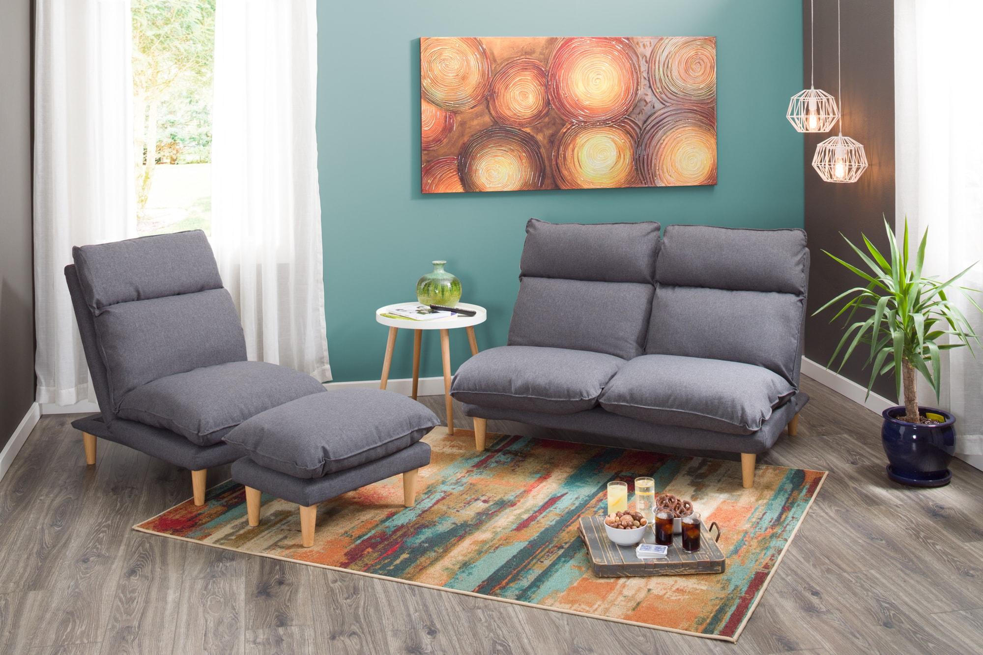 Split complementary room