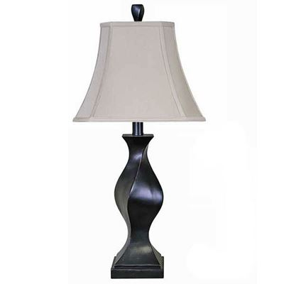 "Picture of 31"" Espresso Twist Table Lamp"
