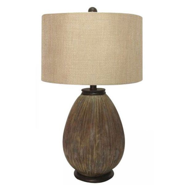 Picture of Grey Wash Table Lamp