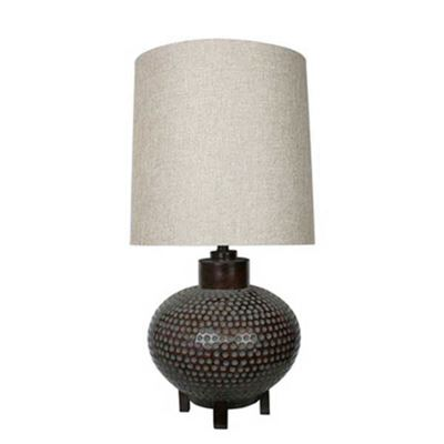 Picture of Hammered Copper Table Lamp
