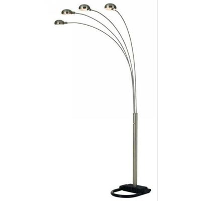 Picture of 4 Arm Chrome Arc Lamp
