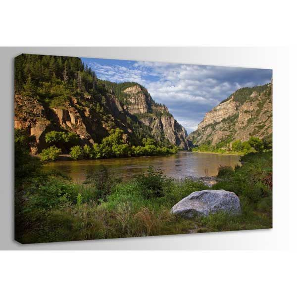 Picture of Glenwood Canyon Morning 48x32 *D
