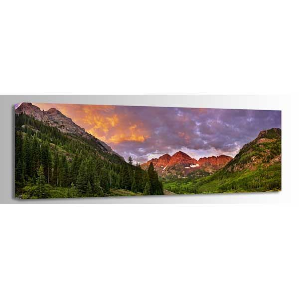 Picture of Maroon Bells Pano 60X20 *D