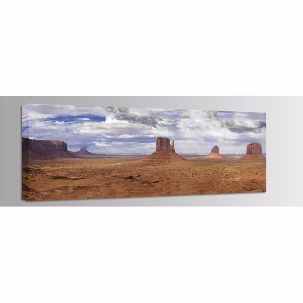 Picture of Monument Valley-August Sky 60x20 *D