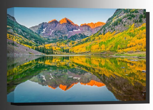 Picture of Maroon Bells Lake In Fall 24x36 *D