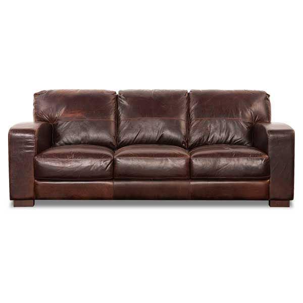 Aspen All Leather Sofa 4442s, Soft Line Leather Sofa