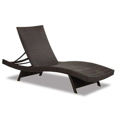 Picture of Resin Rattan Adjustable Chaise