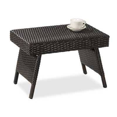 Picture of Resin Rattan Folding End Table